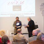 Alessandro Biswas Anil ritira il premio