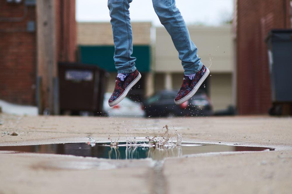 Salto in acqua