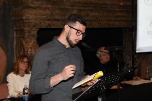 Alessandro Grippa - vincitore della sezione Poesia giovani